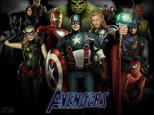 Avengers-Wallpaper-v2-by-ALilZeker-Featuring-Marvels-Captain-America-Thor-Iron-Man-Spider-Man-Black-Widow-Nick-Fury-More