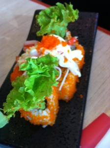 Another Maki to satiate our hunger pangs