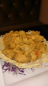 My favorite! The Salted Egg Chicken