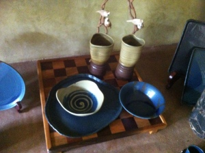 Some of their much celebrated tableware