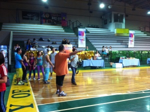 Zumba mode is so on!