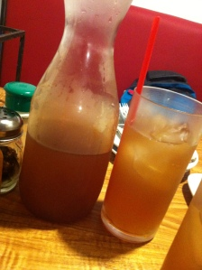 Our Peach Iced Tea just like in Mary Grace.