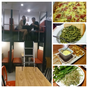 The Photo collage I made of our new food adventure