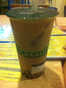 My drink from Serenitea because I missed having my daily fix of Milktea
