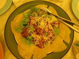 The Taco set that wwe ordered