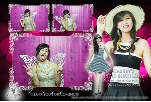 The Debutant with her Angel Wings