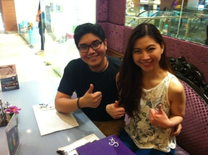 Happy Clients right here! :D Two thumbs up!