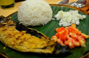 Bangus for lunch :D