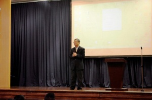 One of their key note speakers during the launch