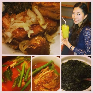 Photo collage from my Instagram about this food trip.