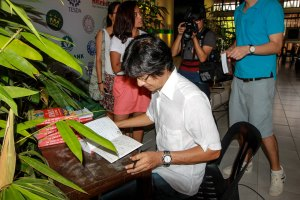 Archie King Book Signing