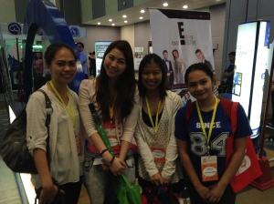 Lady Lagalag and The Health Junkie :D Hi Tonette and Jam!