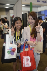 Hi Tonette! :D She is also a guest writer at When in Manila :D Cool right?