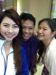 With Ms. Heidi and Sir Rey