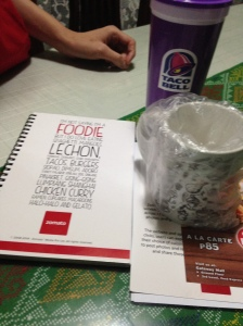 Some of my take home goodies from Zomato. Thank you so much :)
