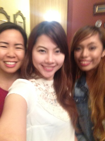 Groupie! :) The Ginger Bread team with Rosey and Hershey