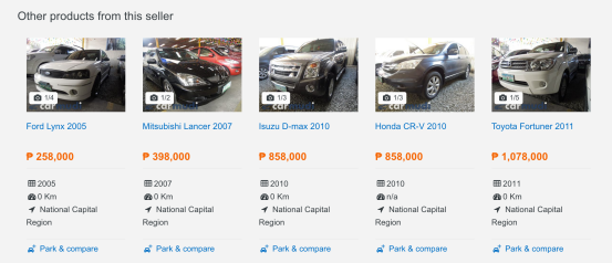 Other Products by Dealer