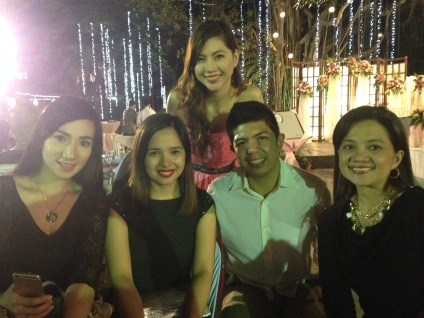 My pretty workmates and Nicole's bf