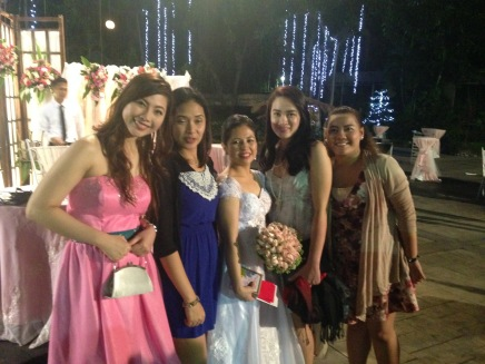 Ladies with the bride