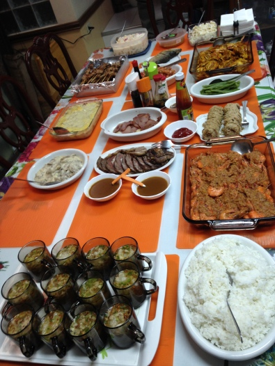 Check out this generous spread just for us!