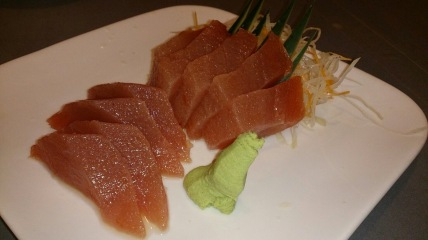 "One of my favorite appetizers ""Tuna Sashimi"""