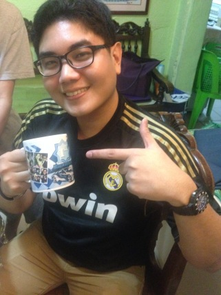 This cutie with the mug :)