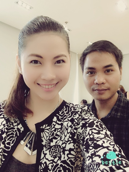 Me and my friend Ronli who accompanied me into this event. He is also a budding blogger :)