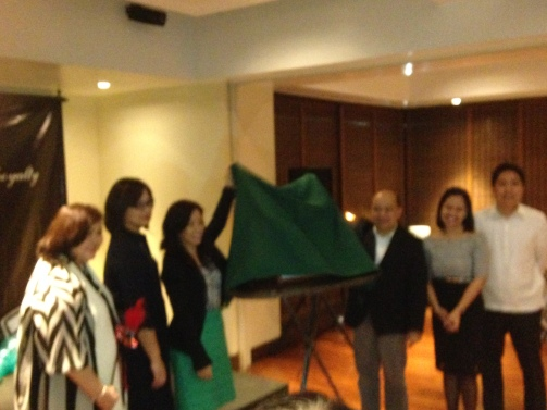 PhilCare Executives as they unveil their new innovation :)