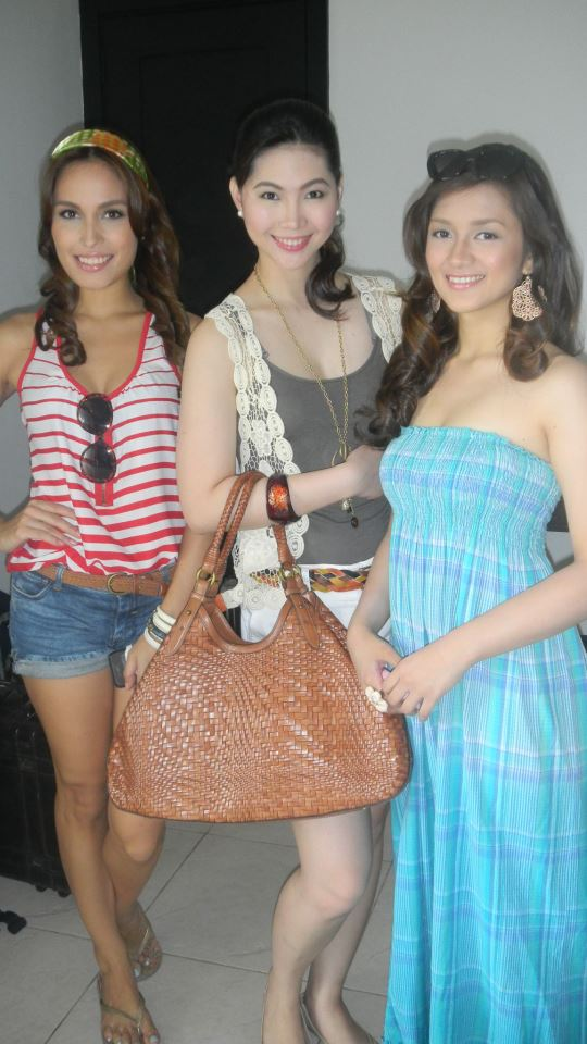 Me with my Co-Models back in the day in Punta Fuego for the Lifestyle Network Station ID