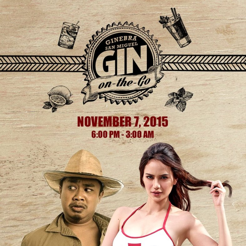 This was their event poster wherein Bogart and Arci were there last night along with the GSM Caravan who served drinks all night long! Ginuman na!