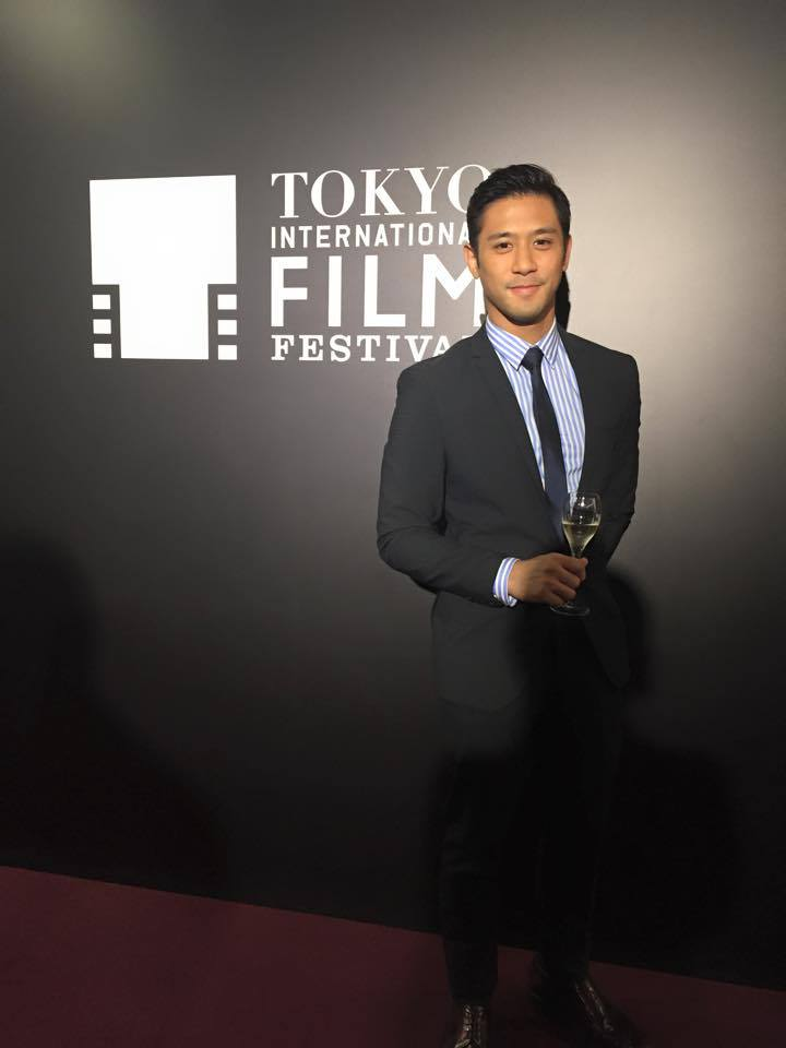 Balut Country premiered at the 28th Tokyo International Film Festival last October which was also attended by the film's main actor Rocco Nacino (1)