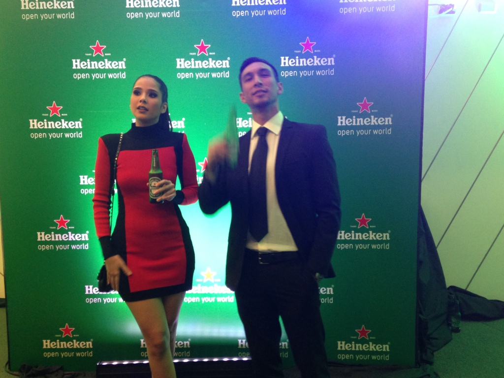 Spotted Max Magalona and Anton Del Rosario both looking dapper served as our hosts for the night