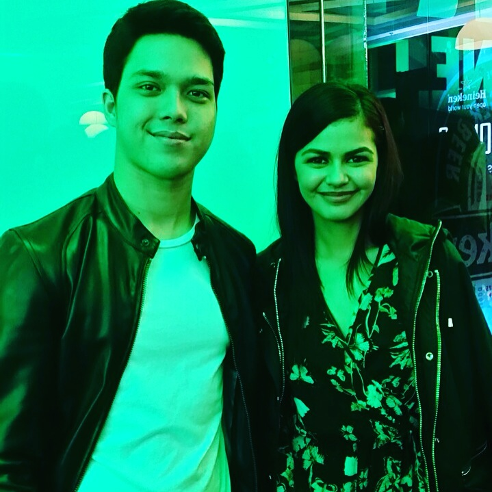 Reel and Real life Couple Elmo Magalona and Janine Gutierrez also graced the event