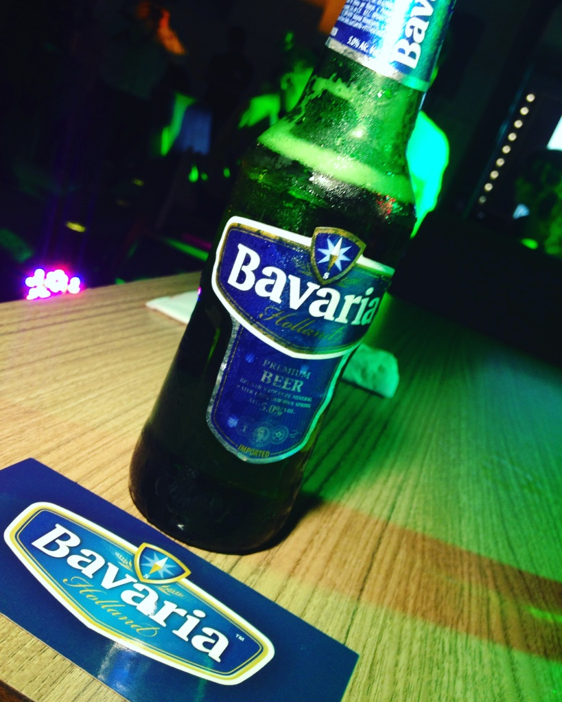 Here's my photo of their beer that I downed last night and my ticket to this exclusive invite only party! :)