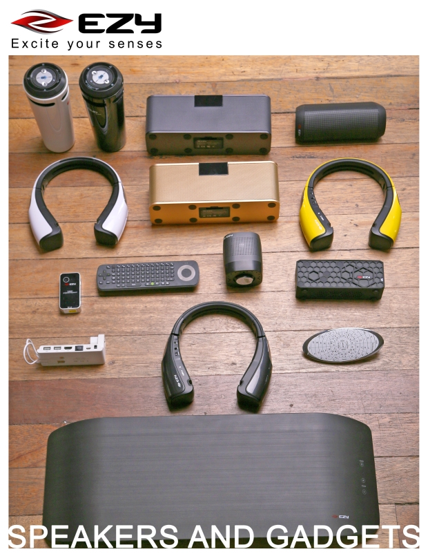 speaker and gadgets