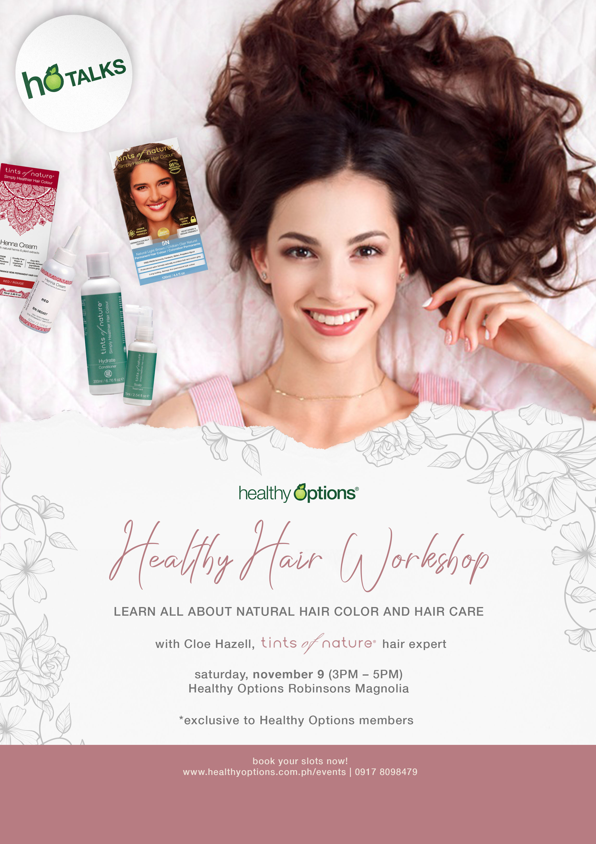 Tints of Nature_v1b A4 Poster_Healthy Hair HORM